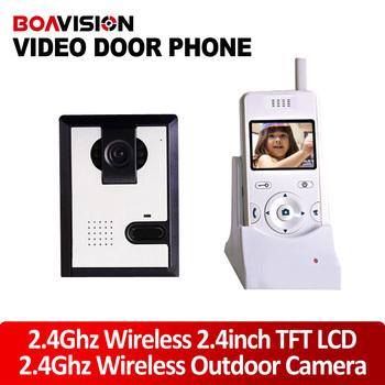 Home Wireless 2.4 Inch TFT LCD Night Vision Camera Video Door Phone Intercom/Door peephole camera wireless