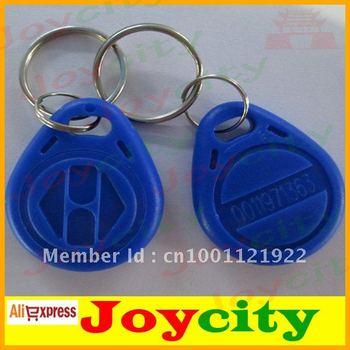 Keyfobs EM cards Keychain Type EM ID Access Control Card  HIGH sensive smart card Keyfob joycity
