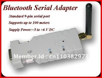 Class 1 100M Bluethooth RS232 Adapter profile available AT command Master & Slave  for  PDA, Laptop, or other Bluetooth Device