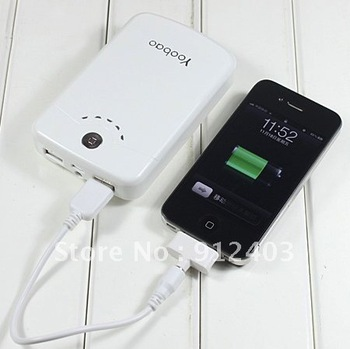 YB-642 11200mah Yoobao Long March Power Bank Dual USB Output for iphone/ipad 2/Mobile Phone/Tablet PC free shipping.