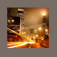 High Quality Guaranteed Custom Cheap City Night View Canvas Collage for Modern Housing Decor Dropshipping -- Canvas Pictures