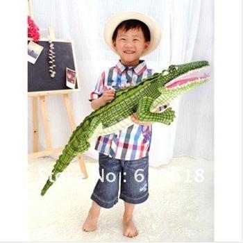 105cm Crocodile Alligator Plush Toy Stuffed Animal Doll Pillow Cushion Novel Gift For Children's Adult Toys