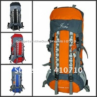 EMS Free Shipping 4 color 80L+20L PROFESSIONAL CAMPING HIKING MOUNTAIN TRAVEL BACKPACK LARGE SIZE