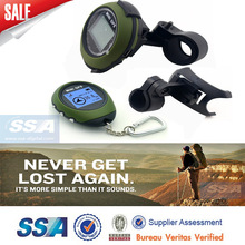 Free Shipping 16 POI Green Color Factory Mini GPS Receiver with Bicycle Mount(China (Mainland))