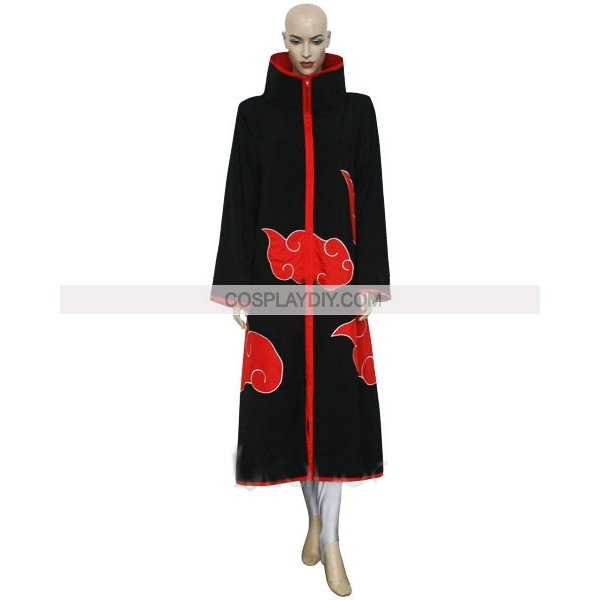 Free shipping Naruto Akatsuki Konan Halloween Cosplay Costume(China (Mainland))