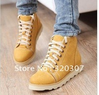 Hot sale new fashion 3 color Women's Snow Boot Martin shoes female Winter boots Keep Warm Plus size 35-43