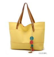 Women's handbag vivi sweet candy color block vintage formal handbag bag