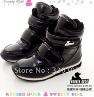 Free shipping! 2012  new 8 color RUBBER DUCK snow boots! Warm waterproof snow boots! size:35---39