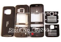 New Black Full Housing Housing Cover Case + Keypad for Nokia N78 free shipping