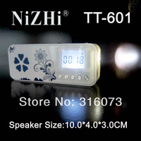 Free shipping!newest model Fashion digital portable mini speaker TT601