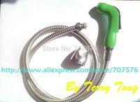 RETAIL Handheld Bidet / Portable bidet Diaper Sprayer Shattaf TS078L-Br-SET Shattaf head+Braided hose+bracket+fitting parts