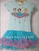 Beautees infant Tutu Dress Toddler girl clothing kids dress baby cliffon dress pettiskirts girls Lace dress