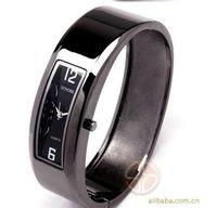 China post 2013  Ladies  Stainless Steel  bangle Bracelet Quartz Wrist Watch Good Quality Free Shipping