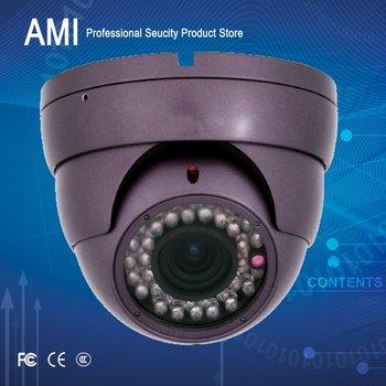 600TVL  outdoor CCTV Camera Day Night Vision Surveillance Dome camera with varifocal lens