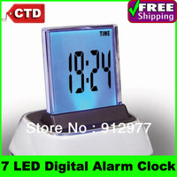 Wholesale High-quality With Factory Cheap Price Three Setting LED Alarm Clock - Multi Color Display--Best For Promotion Gift