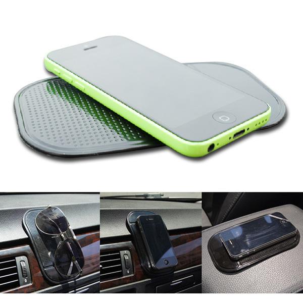 600 pcs/lot Freeshipping magic sticky pad anti slip for car dashboard,car silicon anti slip mat for PDA mp3 mp4(China (Mainland))