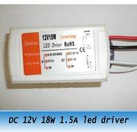 10pcs DC 12V 1.5A 18W led light transformer LED constant voltage power supply adapter 220V-240V