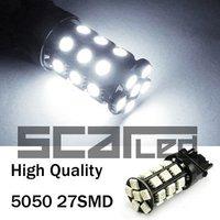 Car Bulbs 3156 5050 27 SMD High Quality Auto LED Head Lights Turn Signal Lamps