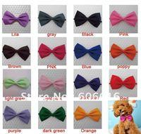 Adjustable Pet Dog Cat Handsome Bow Tie Necktie Neck Collar Cute gift 15colours