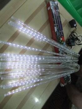 LED meteor light Snow fall lights 240 LED 8pcs 50cm tubes Fake double sided  10 set per packing