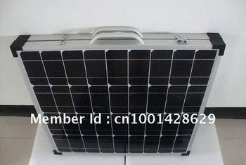 Folding solar panels   2*40W18V  mono  solar cells