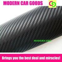 wholesale 152cm x 30m black 3d carbon fiber vinyl film car vinyl car wrap practicable car stickers