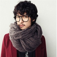 Hot Selling winter Warm wool scarf  Men and women in general use lovers of the scarf