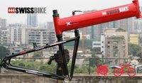 free shipping Hummer SWISS/MONTAGUE  2.0 Disc brake  folding mountain bike frame,3 colors