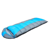 New style Infinite splicing envelop sleeping bag with hat,high quality camping sleeping bag,two color,free shipping