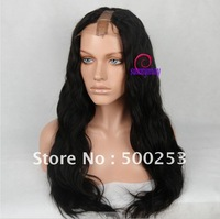 "130% Density Body Wave Custom Brazilian Virgin  Human Hair 3.5""*0.4"" U Shape Full Lace Wigs"