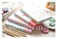 Hot !! 6pcs,Cute Girl Little Red Riding Hood Boxed Book/Notebook/ Account Book/Memo Pad/Note Book,6pcs/lot. Free Shipping!!