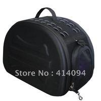 Foldable Transport Pet Carrier (Plain color fabric)-SDT3043B-black
