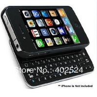 free shipping bluetooth keypboard and protect cover  2-in-1  mini keyboad wireless keyboard for iPhone 4S