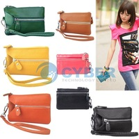 Fashion Women Genuine Leather Key Case Key Holder Bags Case Purse