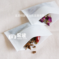 Free Shipping! New! 32pcs - 14x14cm Non-woven Fabrics Tea Bags, Disposable Folding Teabags, for tea or flowers