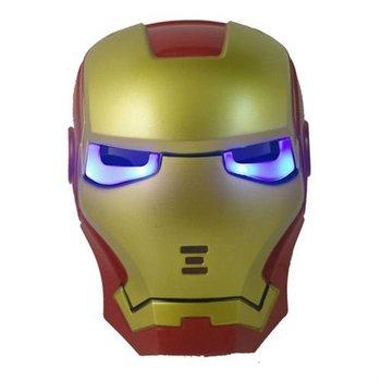 Free shipping the avenger Lightiing led Iron man mask for children holiday cosplay iron mask