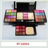Free Shipping Sunshine Foldable Eye Shadow Powder Palette 35 COLORS 2 Makeup brushes 2 Powder