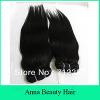 3Bundles Lot Factory Price 100% Malaysian Human Hair Natural Straight Human Hair Weaving Human Hair Weft