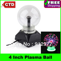 Wholesale And Retail High Quality With Factory Cheap Price AC Powered 4 inch Plasma Ball Light-- In Stock