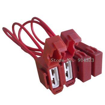 20pcs/lot Auto ceramic fuse holder and car fuse socket  for medium fuse