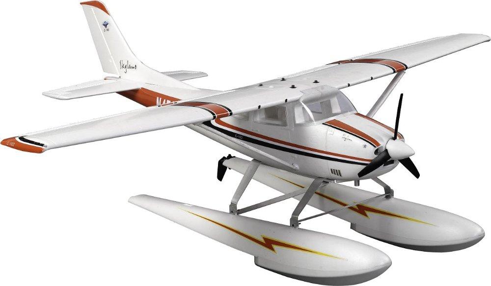 Popular! 6ch 2.4G EPO 1.5m Large Cessna 182 seaplane rc plane model electric RTF but no battery(China (Mainland))