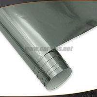 Black Chrome vinyl film, Chrome mirror sticker with air bubble free  1.52*30m size