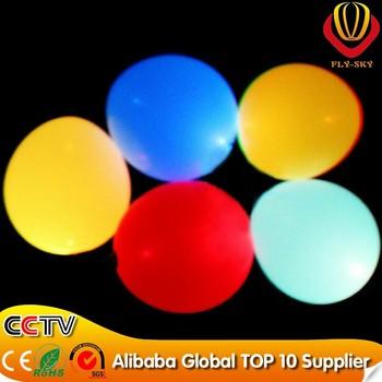 FREE shipping 80 pcs/lot Fashion happy birthday decoration100% latex flashing glowing balloons