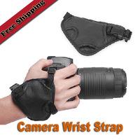 Leather DSLR Camera Hand Grip Strap for Canon Nikon