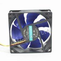 20pcs Mute 8CM 80MM MINI PC Computer Case Mainframe Box CPU VGA Heatsink Cooling Fan Free Shipping
