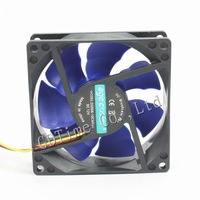 Mute 8CM 80MM MINI PC Computer Case Mainframe Box CPU VGA Heatsink Cooling Fan Free Shipping