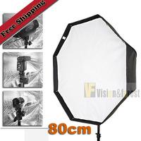 Studio 80cm/32in Octagon Softbox umbrella Reflector Speedlite Octagon umbrella for SpeedLight Flash