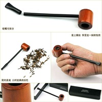 Free Shipping High Quality Wooden Smoking Tobacco Pipe SD-569b