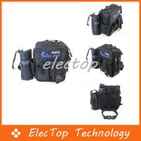Free shipping Multifunction Outdoor fishing tackle bag Perch Bag Black 30pcs/lot Wholesale