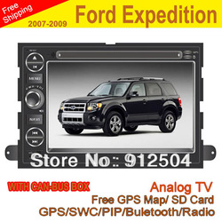 7&quot; car dvd player with Built-in GPS+Touch screen+Radio tuner+WCE 6.0 System for Ford Expedition 2007-2009 with canbus box(China (Mainland))